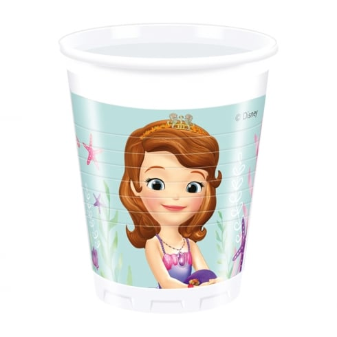 Decorata Party Sofia the First Plastic Cups 8 Pack