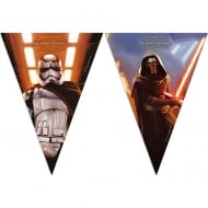 Decorata Party Star Wars The Force Awakens Triangle Flag Banner