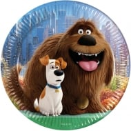 Decorata Party The Secret Life Of Pets 23cm Plates