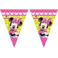 Decorata Party Triangle Flag Banner Disney Minnie Mouse