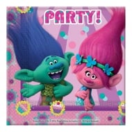 Decorata Party Trolls Paper Napkins 20 Pack