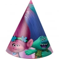 Decorata Party Trolls Party Hats 6 Pack
