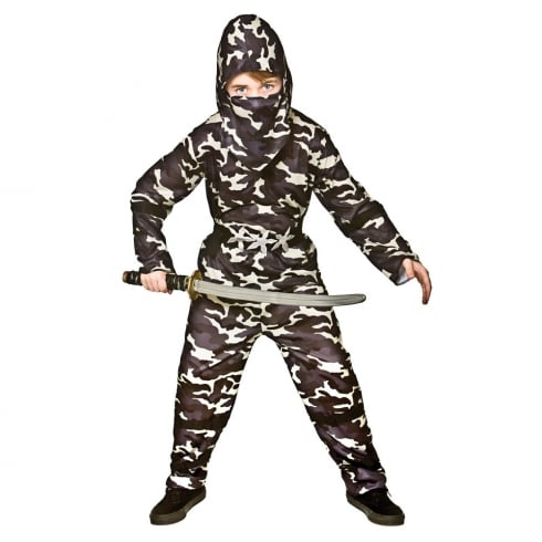 Wicked Costumes Delta Force Ninja (8-10) Large