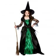 Deluxe Emerald Witch (8-10) Large
