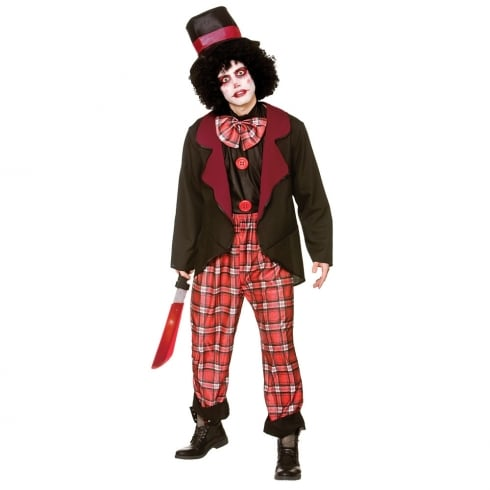 Wicked Costumes Deluxe Freaky Clown Small