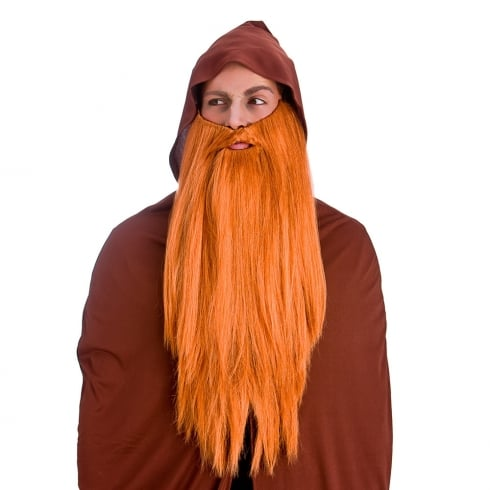 Wicked Costumes Deluxe Long Beard - Ginger