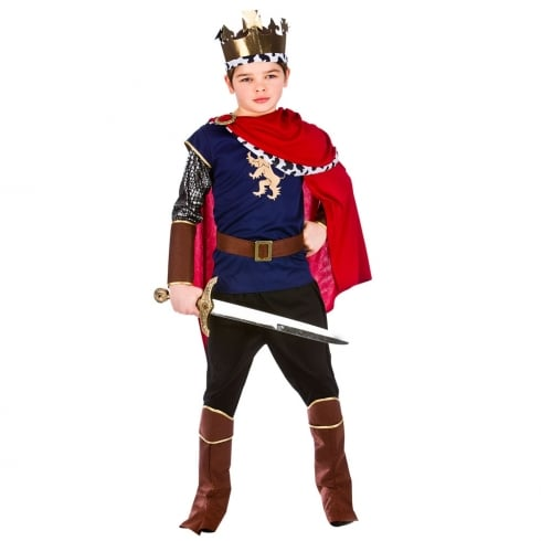 Wicked Costumes Deluxe Medieval King (8-10) Large