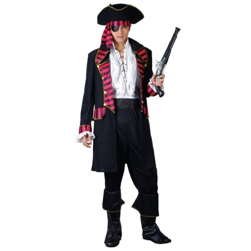 Wicked Costumes Deluxe Pirate Captain (M)