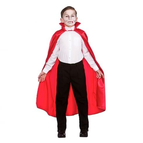 Wicked Costumes Deluxe Red Satin Cape with Collar - Childrens