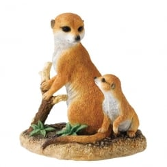 Devotion Meerkat & Pup Figurine