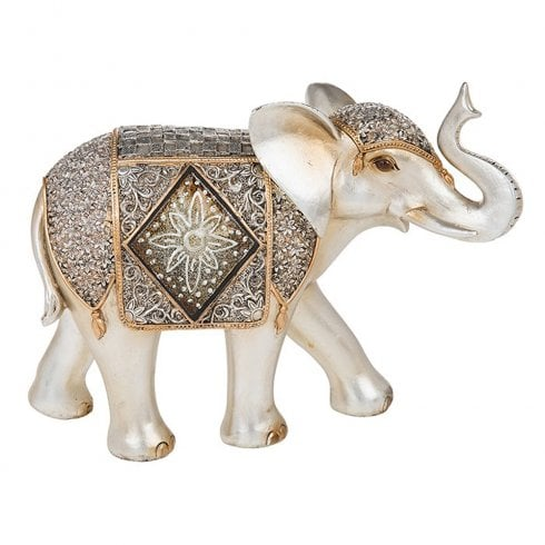Shudehill Giftware Diamond Crackle Elephant Extra Large