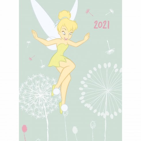 Otter House Disney 2021 A6 Diary - Tinkerbell