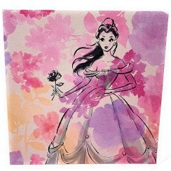 Disney Belle Floral Blank Card 25509379