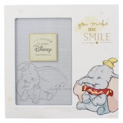 Disney Dumbo Magical Beginnings You Make Me Smile MDF 4 x 6 Photo Frame