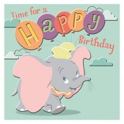Disney Dumbo Time For A Happy Birthday Card 25519850