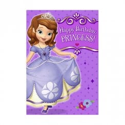Disney Happy Birthday Princess Sofia Card 25470189