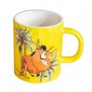 Disney Lion King Timon & Pumbaa Hakuna Matata Embossed Mug DI672