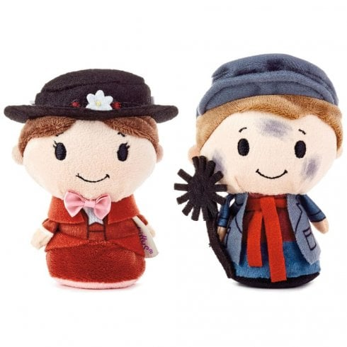 Hallmark Itty Bittys Disney Mary Poppins and Bert (rooftop) US Edition