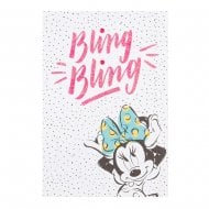 Disney Minnie Mouse Bling Bling 10 x 15cm Birthday Card With Nail Stickers 25479540