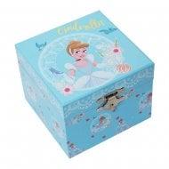 Disney Pastel Princess Cinderella Musical Jewellery Keepsake Box