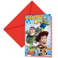 Disney Pixar Toy Story Invites 6 Pack