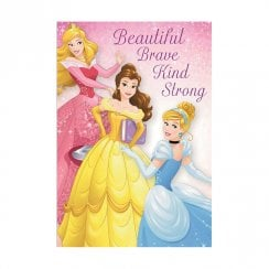 Disney Princess Beautiful Brave Kind Strong Birthday Card 25470212