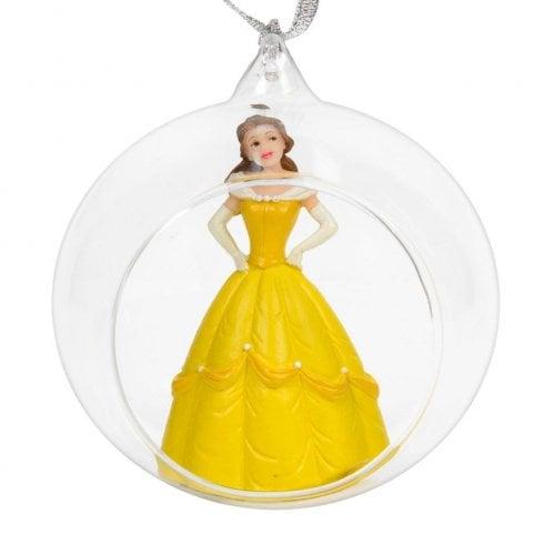 Widdop & Co. Disney Princess Belle 3D Glass Bauble