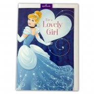 "Disney Princess Cinderella ""For A Lovely Girl.."" 12 x 17cm Birthday Card 25470224"