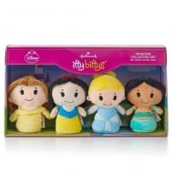 Disney Princess Collector Set of 4 Soft Toys US Edition