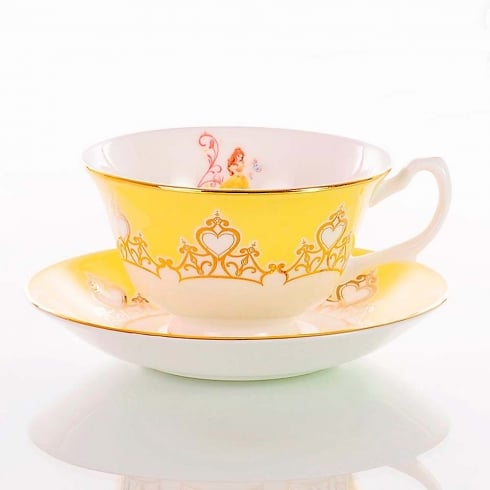 English Ladies Co. Disney Princess Cup & Saucer - Belle