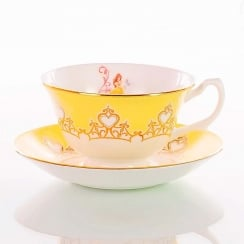 Disney Princess Cup & Saucer - Belle