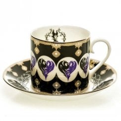 Disney Princess Cup & Saucer - Maleficent