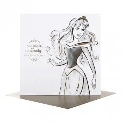 Disney Princess Portraits Aurora Greetings Card 25478186
