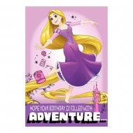 "Disney Princess Rapunzel ""Adventure"" Birthday Card 25470190"