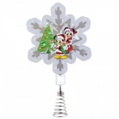 Mickey & Minnie Mouse Tree Topper Holidazzler