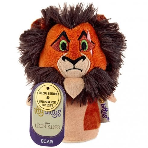 Hallmark Itty Bittys Disney The Lion King Scar US Special Edition