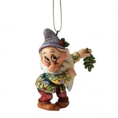 Christmas Bashful Hanging Ornament