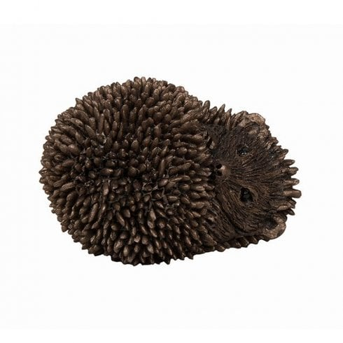 Frith Sculptures Dizzy Hoglet - Baby Hedgehog Lying Bronze Figurine