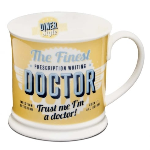 Diner Style Mugs Doctor