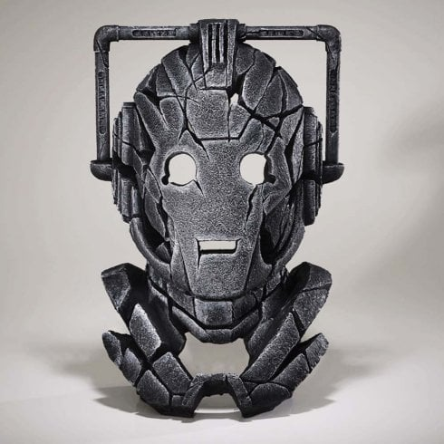 Edge Sculpture Doctor Who Cyberman Bust