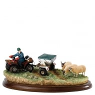 Doin The Rounds ATV Figurine