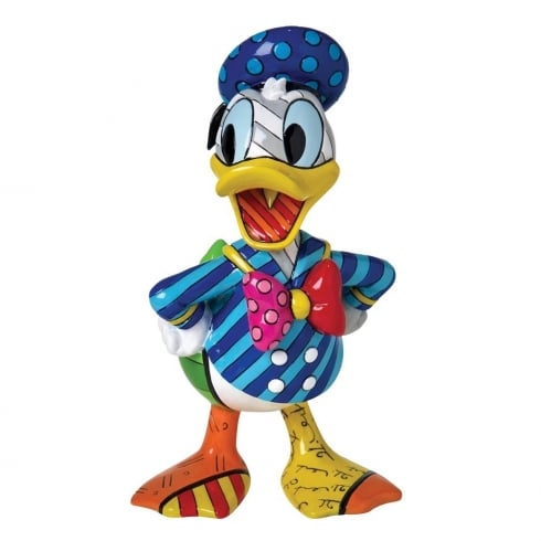 Disney By Britto Donald Duck Figurine