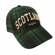 Dorian Scotland Cap Black/Green