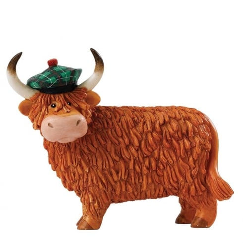 Hairy Coos! Dougal Cow Figurine