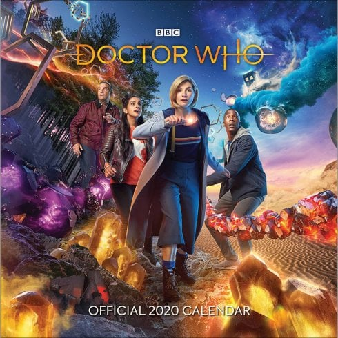 Otter House Dr Who 2020 Calendar