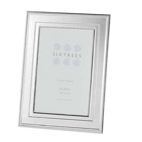 Sixtrees Drago - Silver Plated Photo Frame 4 x 6