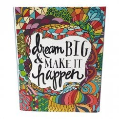 Dream Big Pocket Notepad & Pen