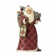 Dreaming Of Christmas Past Santa Claus Figurine