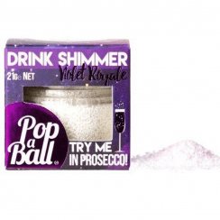 Drink Shimmer For Prosecco, Violet Royale