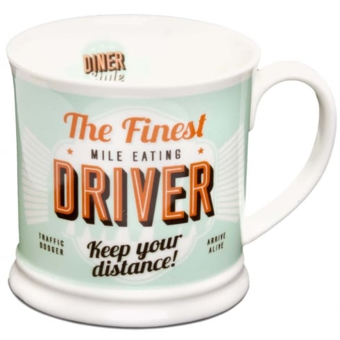 Diner Style Mugs Driver